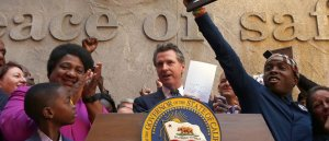 California governor signs law aimed at limiting police shootings