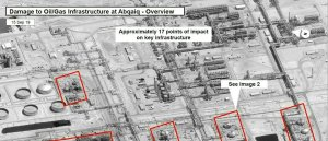 Satellite photos of Saudi oil strikes show surgical precision - Iran tells U.S. to 'repent'