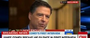 FLASHBACK: Jim Comey Knew in January 2017 that Trump Prostitute Pee-Pee Tape Was False – But Peddled it in April 2018 on ABC-GMA Anyway (VIDEO)