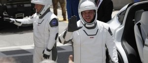 'American astronauts on American rockets from American soil': NASA returns to space with help from SpaceX