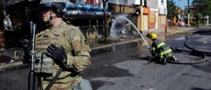 National Guard activated in nearly a dozen states amid unrest over George Floyd death