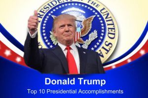 Trump's Top 10 Accomplishments As of May 2018