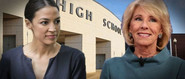 Hypocrite: Anti-School Choice AOC Helped Goddaughter Get Into Charter School