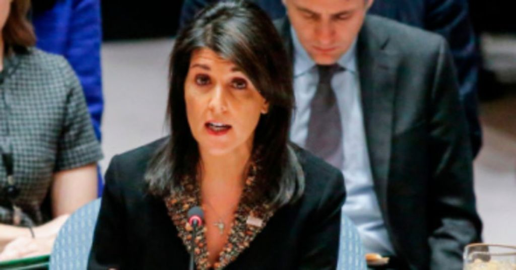 Watch: Nikki Haley Pushing Trump To Set Historical Record Straight On Palestinian 'Refugees'