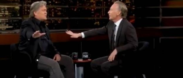 FIREWORKS! Steve Bannon Takes on Unhinged Leftie Bill Maher and ABSOLUTELY CRUSHES HIM! (Video)