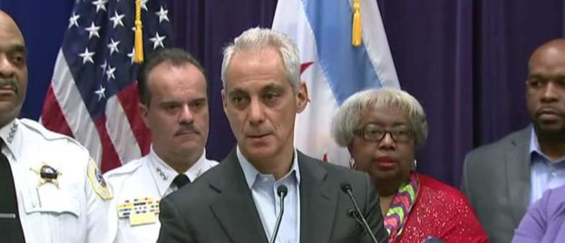 Major Chicago roadway closes during afternoon rush as protesters demand Rahm Emanuel's resignation