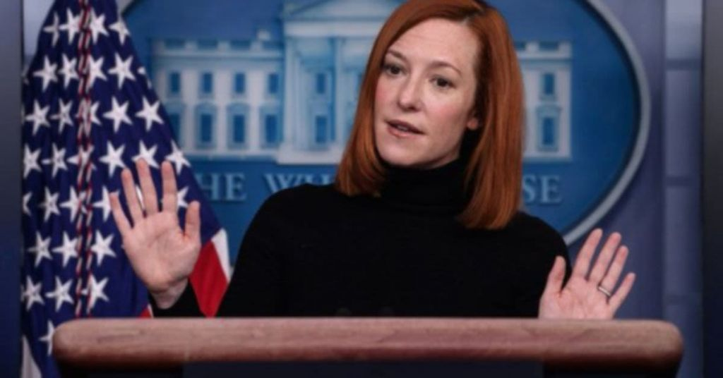 All Jokes Aside, Is Jen Psaki Out of Her Damned Mind?