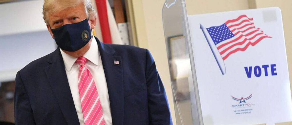 'A Guy Named Trump': President Votes In Florida For First Time Since Leaving New York City