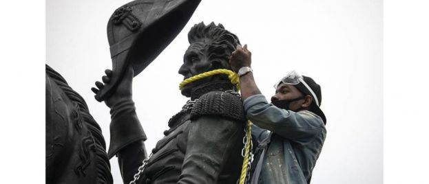 Justice For America: Vandals of Jackson Statue Charged By Trump DOJ