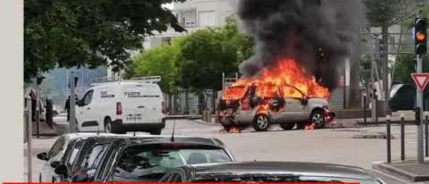 France on Fire: Islamic 'Gangs' Destroying Country; Chant 'Down with the West'
