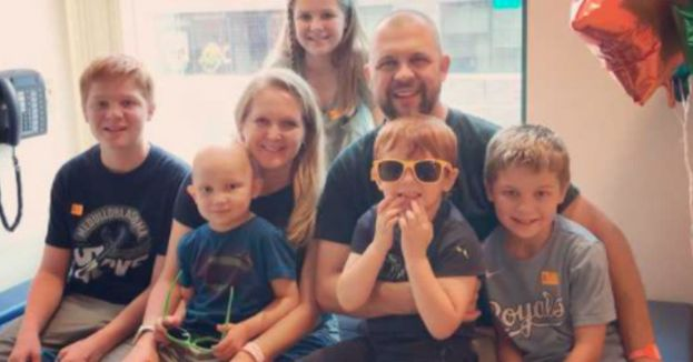 Miracle? 5 Year Old home After Beating Brain Cancer