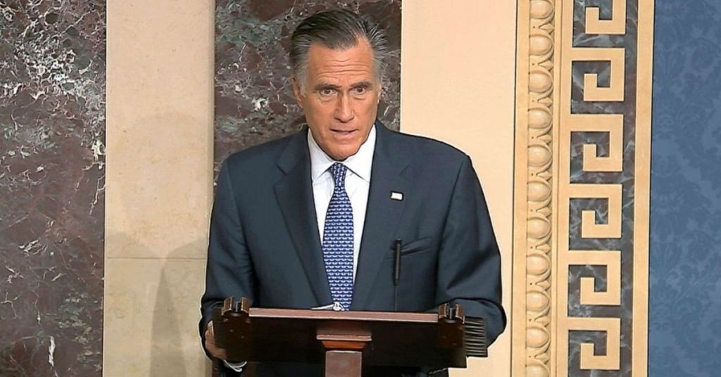 Just In Case There Was ANY Doubt About Who Leads GOP Base, Even Romney Says 'Trump'