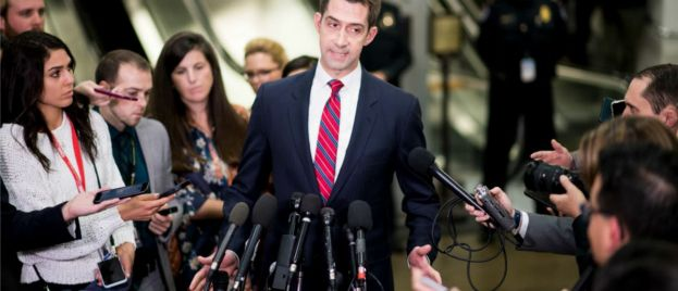 Sen. Cotton: China 'Lying' About End of COVID-19 Crisis There