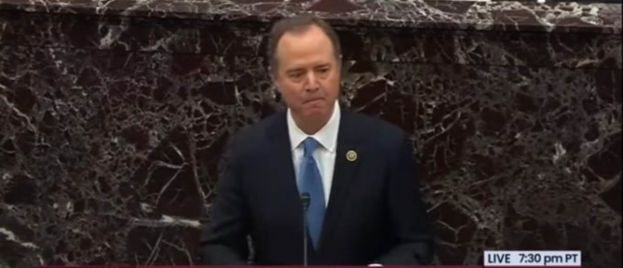 Video: Schiff Has Teary-Eyed Meltdown in Thursday Closing Statement, Trashes Giuliani, Says Trump Must Be Removed Because He Might Work With Russia and China to Win Re-Election