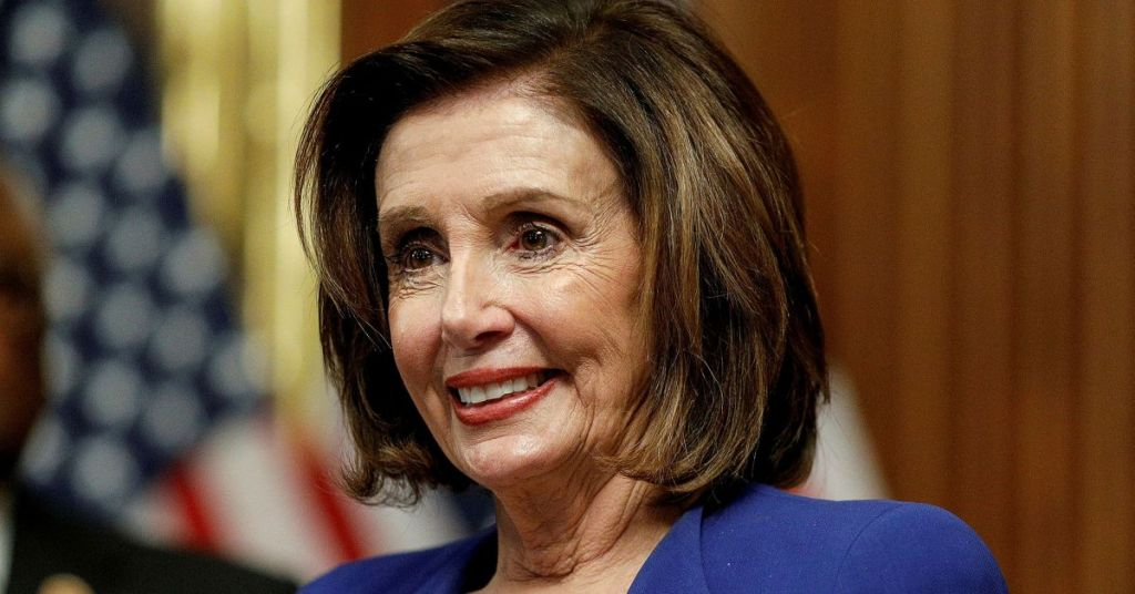 Nancy Could Not Wait For Trump to Leave But Months In He Is Still Living Rent Free In Her Head