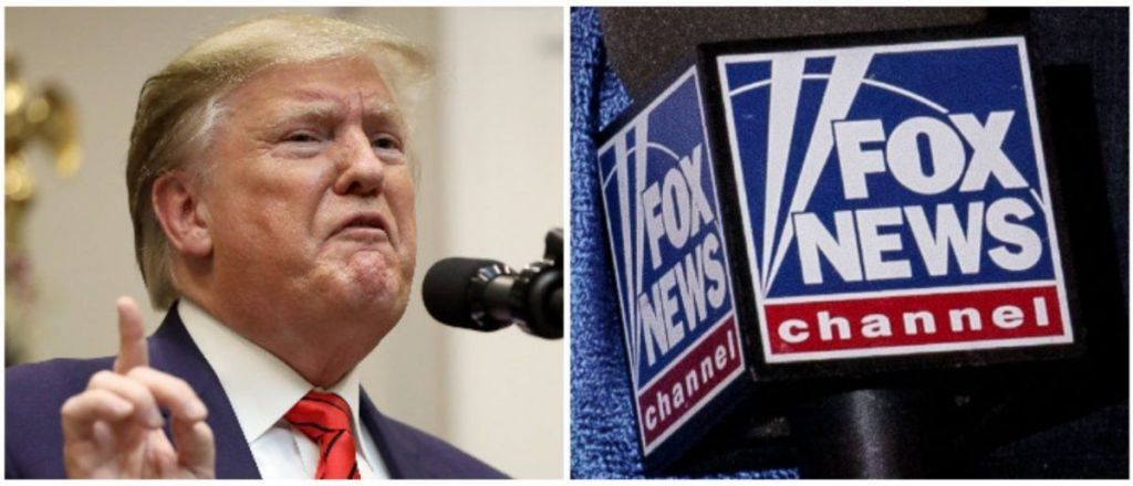 Trump Escalates Feud With Fox News Over Poll, Hopes 'Roger A Is Looking Down' At 'Once Beautiful Creation'