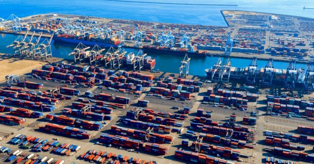 Jammed Seaports Signal Beginning Of Supply Chain Struggle