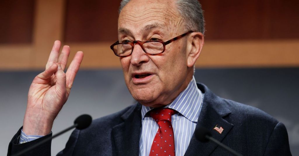 Schumer Betrays Bipartisanship For Good