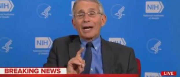 """""""We Are Ahead of the Curve"""" Thanks to President Trump's Unprecedented Travel Restrictions – Dr. Fauci Praises Trump on MSNBC (VIDEO)"""
