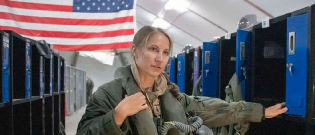U.S. of A: First Woman To Pilot F-35 in Combat Revealed