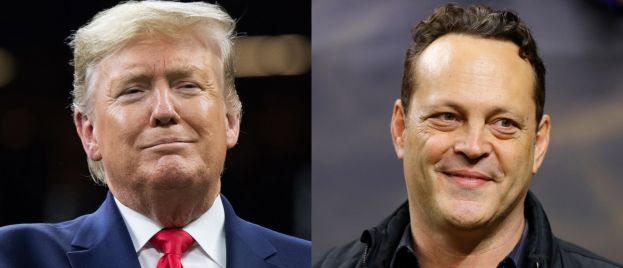 Leftists Freak Out After Trump Meets Vince Vaughn During National Championship Game