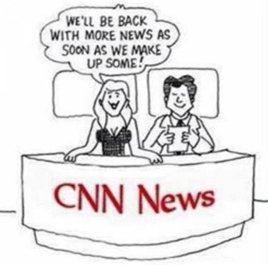 The HARD TRUTH About CNN Summed Up By One Cartoon