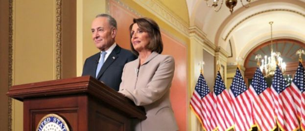 Pelosi, Schumer Rebuttal Mocked for Wooden Delivery, Weird Staging