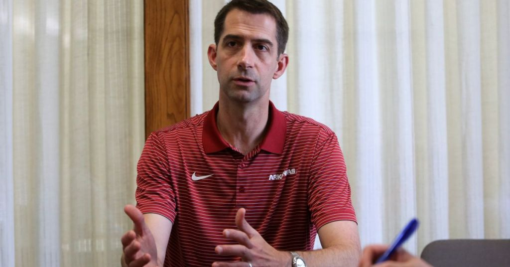 Political Suicide: Word On Street Is Tom Cotton Will Lose His Next Election Because Of This Decision