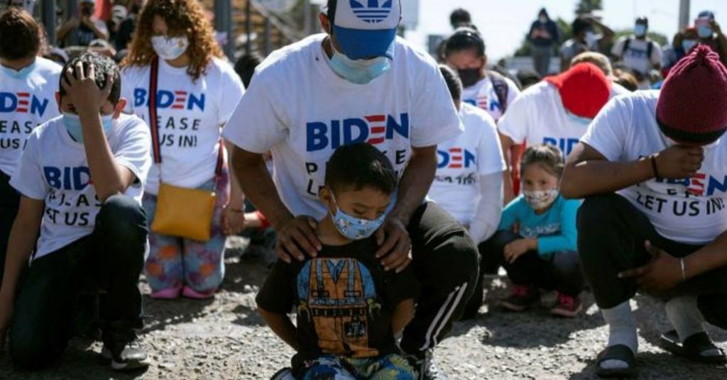 Biden Playing Blame Game With The Border Crisis