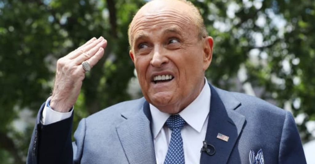 Cancelled!! Giuliani Is Latest Victim Of Progressive Assault On Those Who Support President Trump