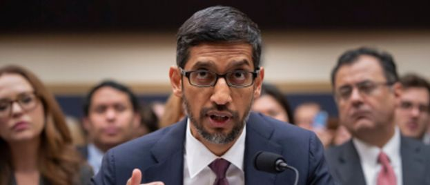 Trump Accuses Google and it's CEO of Illegal Interference in Our Elections