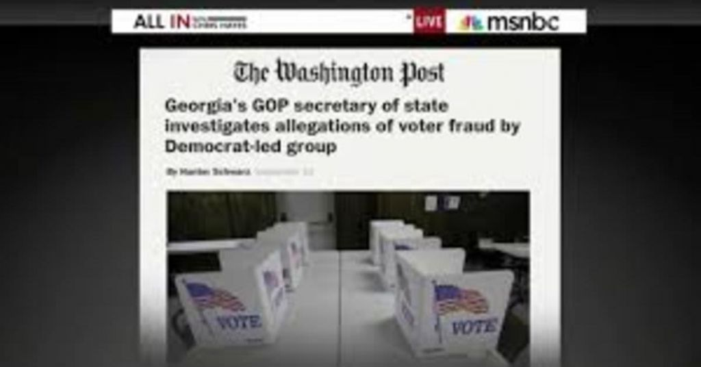 Remember That Time When Stacey Abrams Was Charged With Voter Fraud?