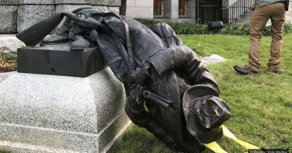 'Woke' Insanity: Civil War Memorial Destroyed During BLM Riots Being Replaced With This?