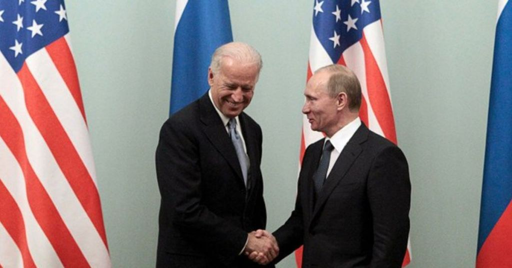 Watch: Biden Refuses To Take Questions While Standing Next To Putin