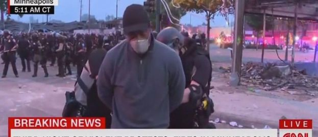 Watch CNN Crew Arrested by Minneapolis Police During Riot (Video)