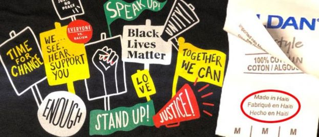 Starbucks Commissions BLM Shirts – Made in Haitian Sweat Shops Known for Abusing Black Workers