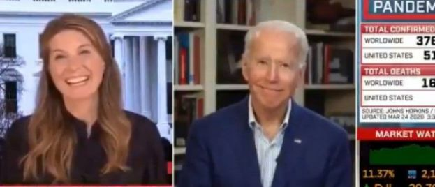 Two Whacky Joe Biden Interviews Today: MSNBC and CNN With Jake Tapper (VIDEOS)