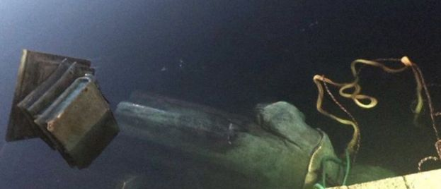 Christopher Columbus Statue Toppled and Thrown in Lake in Richmond, VA
