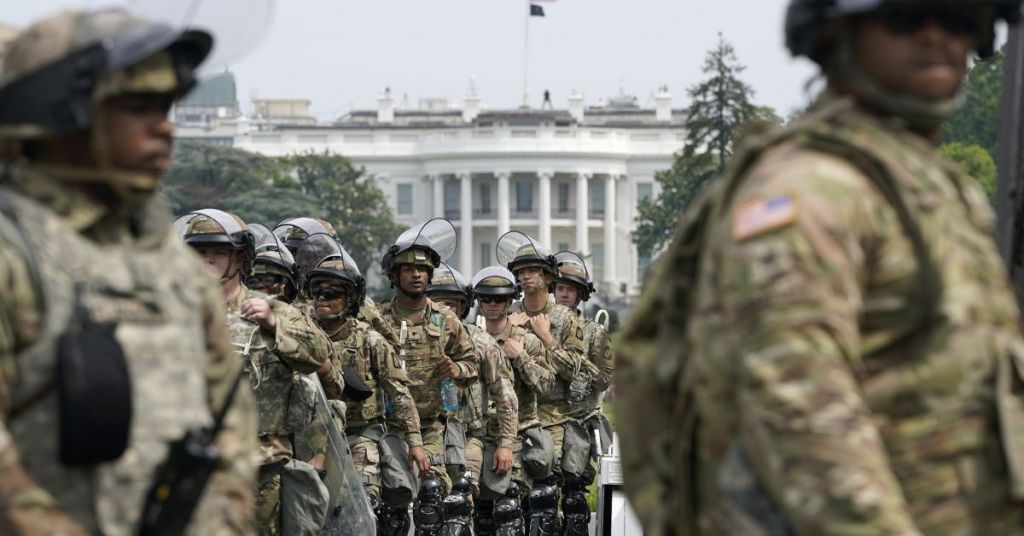 Waste: Biden Administration Has Spent Half A Billion Dollars To Turn DC Into Military Zone