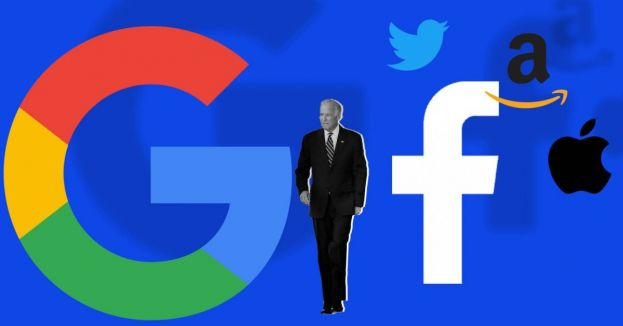 From Censoring Opposition To Donating Cash To Promoting Policies, Big-Tech Not Hiding Biden Love