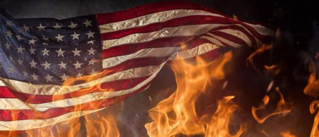 'The Revolution Is Coming': Flag Burning Consumes America On Independence Day