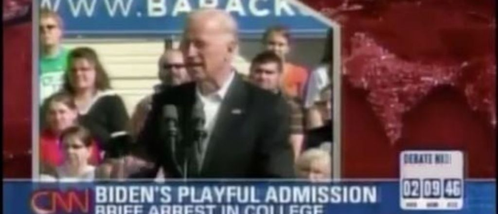 """Video Emerges of Biden Admitting He Was Stopped by Security for """"Following"""" Pretty College Women"""