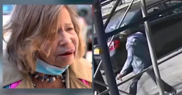 Watch How Depraved New York Has Become As Elderly Woman Suckerpunched On Easter