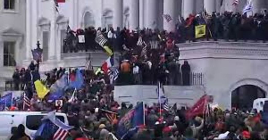 Videos: Chaos Or Outright Revolution? Capitol Breached For First Time Since 1812, Is It Justified?