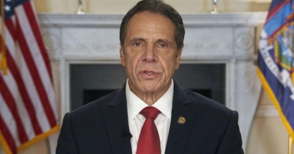 Watch: Creepy Cuomo Gives Lecture-Like, Overdramatically Emotional Apology & Media Eats It Up