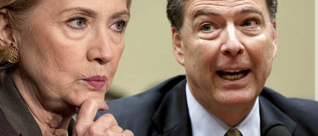 Judicial Watch Sues DOJ For Secret FBI Chart of 'Potential Violations of Law' by Hillary Clinton in Her Use of a Private Server