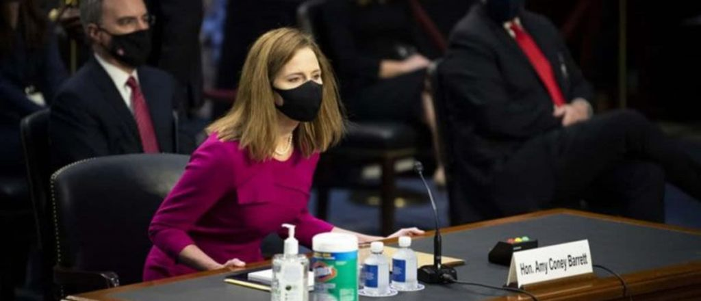 Watch: Barrett's Religion Becoming Center Stage During Hearings