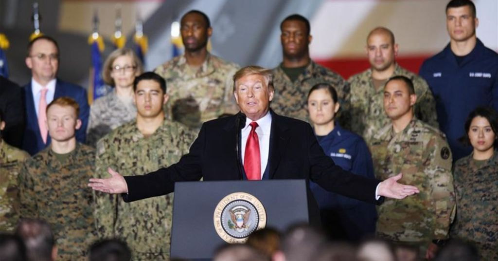 Trump Promised To Bring U.S. Troops Home & In Final Presidential Act Does Just That