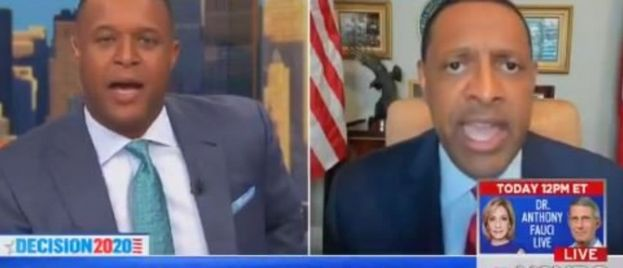 MSDNC: Black Host Tells Black Democratic Lawmaker He's WHAT For Supporting Trump?
