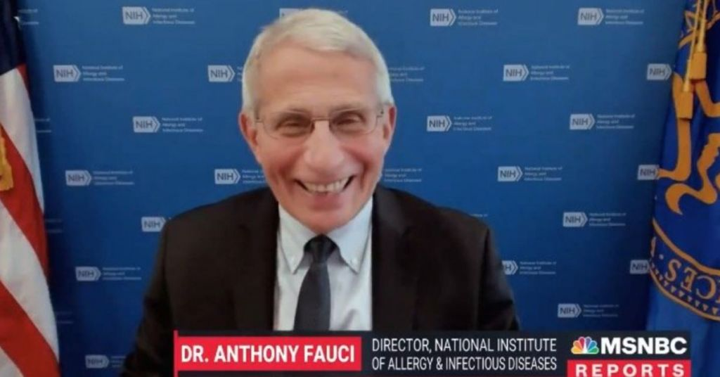No Laughing Matter: Fauci Backs Forced Mandates For Schools